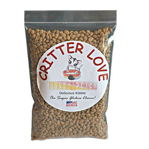 Picture of Critter Love Honey & Peach Kibble - Sugar Glider Food